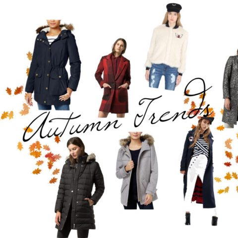 AUTUMN TRENDS: COATS & JACKETS