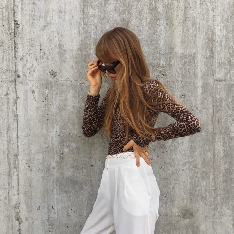 LEO SWEATER AND WIDE LEG PANTS